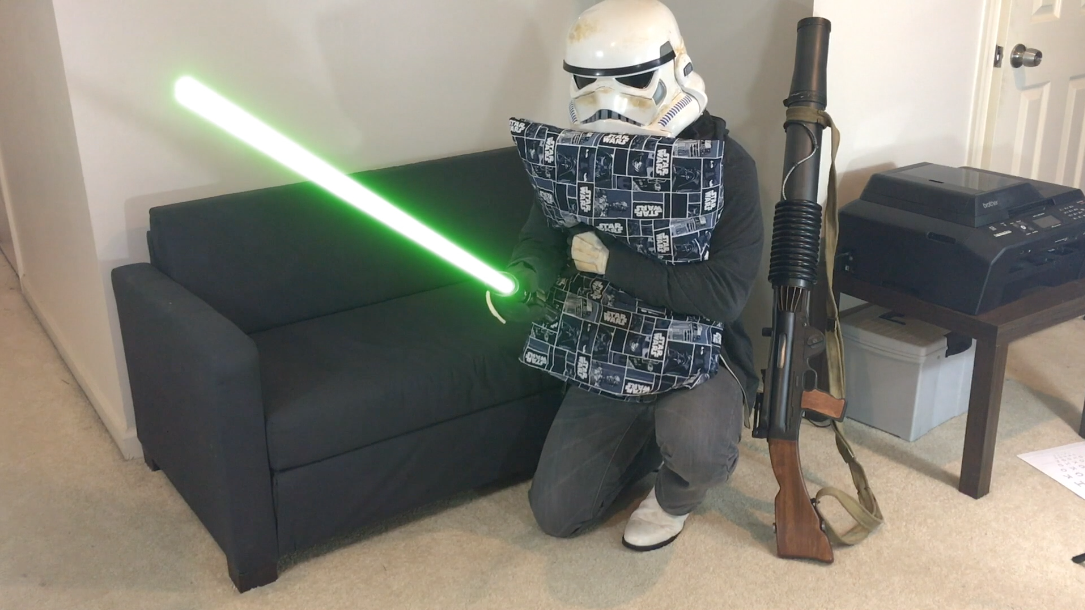 Diy Star Wars Pillowcase Happy Trooper